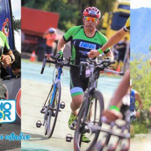 Triatlón del Estadio Mayor en Iron Man de Pucón 2019